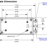 WattsVIEW DC Power Monitor Dimensions