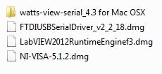 MAC OS X Install files