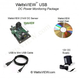 WattsVIEW USB  DC Power Monitor